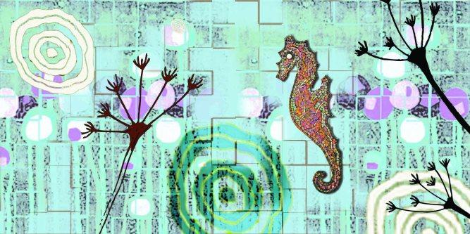 mosaic panel Bovington